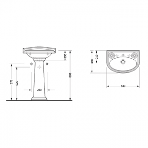 Конзола за умивалник серия KRIZANTEM 5805 - актуална цена, описание, онлайн поръчка. Поръчай Конзола за умивалник серия KRIZANTEM 5805 онлайн, плати про доставка. 249