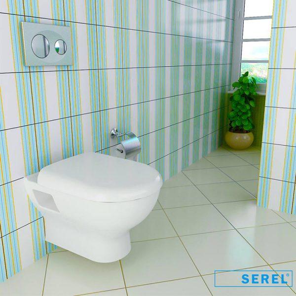 Конзолна WC-чиния FRIENDLY 6710 GTL - актуална цена, описание, онлайн поръчка. Поръчай Конзолна WC-чиния FRIENDLY 6710 GTL онлайн, плати про доставка. 235