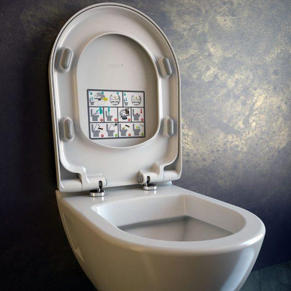 Конзолна WC-чиния SMART SM12 Soft Close - актуална цена, описание, онлайн поръчка. Поръчай Конзолна WC-чиния SMART SM12 Soft Close онлайн, плати про доставка. 201