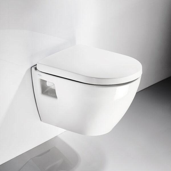 Конзолна тоалетна чиния SMART SM12 Soft Close - актуална цена, описание, онлайн поръчка. Поръчай Конзолна тоалетна чиния SMART SM12 Soft Close онлайн, плати про доставка. 198