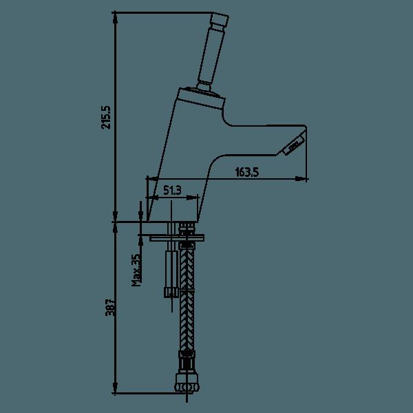 Смесител за кухненска мивка – серия JODY