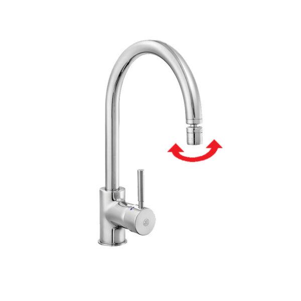Смесител за кухненска мивка - серия MIX MINIMAL 102 118 019 - актуална цена, описание, онлайн поръчка. Поръчай Смесител за кухненска мивка - серия MIX MINIMAL 102 118 019 онлайн, плати про доставка. 465