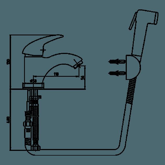 Смесител за умивалник – серия MIX-P