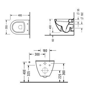 Конзолна WC-чиния SMART SM12 SLIM Soft Close - актуална цена, описание, онлайн поръчка. Поръчай Конзолна WC-чиния SMART SM12 SLIM Soft Close онлайн, плати про доставка. 1422