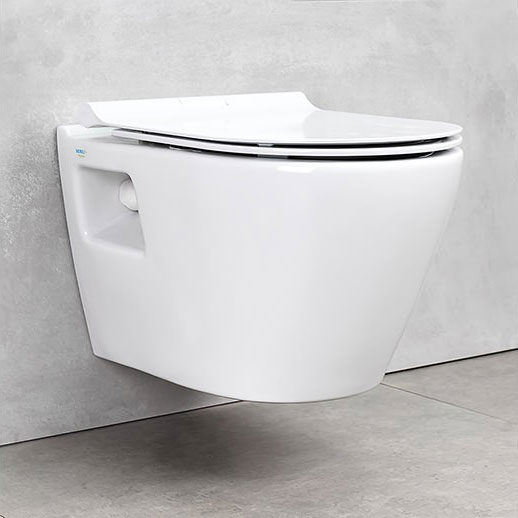 Конзолна тоалетна чиния SMART SM12 SLIM Soft Close - актуална цена, описание, онлайн поръчка. Поръчай Конзолна тоалетна чиния SMART SM12 SLIM Soft Close онлайн, плати про доставка. 1426