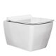 Квадратна, конзолна, тоалетна чиния ALBA - актуална цена, описание, онлайн поръчка. Поръчай Квадратна, конзолна, тоалетна чиния ALBA онлайн, плати про доставка. 1854