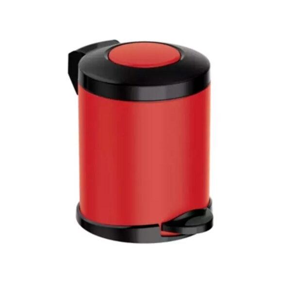 Кошче за тоалетна Meliconi OPERA, 5 литра, черно-червено, мат - актуална цена, описание, онлайн поръчка. Поръчай Кошче за тоалетна Meliconi OPERA, 5 литра, черно-червено, мат онлайн, плати про доставка. 2118