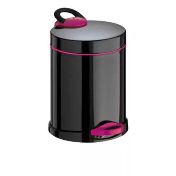Кошче за тоалетна Meliconi OPERA, 5 литра, черно-лилаво - актуална цена, описание, онлайн поръчка. Поръчай Кошче за тоалетна Meliconi OPERA, 5 литра, черно-лилаво онлайн, плати про доставка. 2085