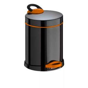 Кошче за тоалетна Meliconi OPERA, 5 литра, черно-оранжево - актуална цена, описание, онлайн поръчка. Поръчай Кошче за тоалетна Meliconi OPERA, 5 литра, черно-оранжево онлайн, плати про доставка. 2086