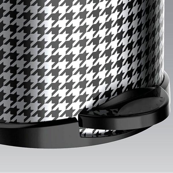 Кошче за тоалетна Meliconi OPERA, 5 литра, черно-бял квадрат - актуална цена, описание, онлайн поръчка. Поръчай Кошче за тоалетна Meliconi OPERA, 5 литра, черно-бял квадрат онлайн, плати про доставка. 2128