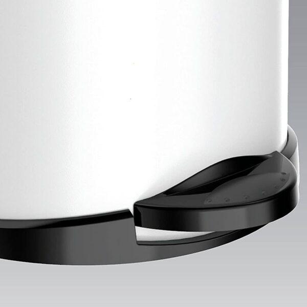 Кошче за тоалетна Meliconi OPERA, 14 литра, бяло-черно, мат - актуална цена, описание, онлайн поръчка. Поръчай Кошче за тоалетна Meliconi OPERA, 14 литра, бяло-черно, мат онлайн, плати про доставка. 2164
