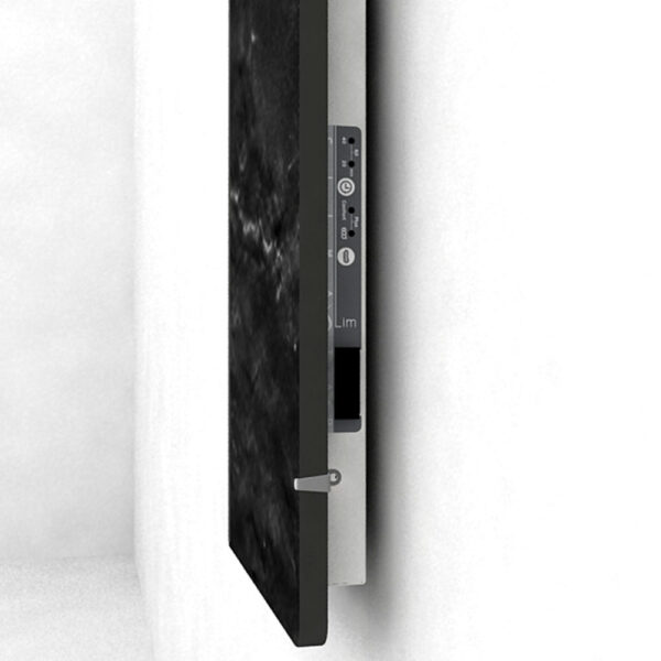 Електрически отоплител за баня с акумулираща функция CLIMASTAR Slim 500 W, черен релеф - актуална цена, описание, онлайн поръчка. Поръчай Електрически отоплител за баня с акумулираща функция CLIMASTAR Slim 500 W, черен релеф онлайн, плати про доставка. 2697