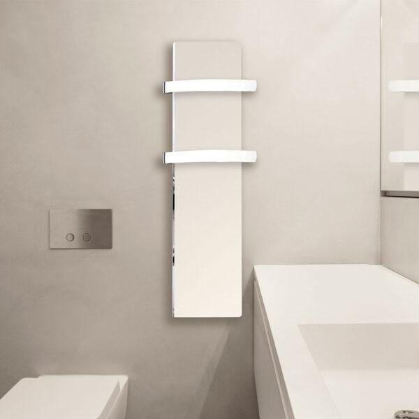 Електрически отоплител за баня с акумулираща функция CLIMASTAR Slim 500W, бял гладък - актуална цена, описание, онлайн поръчка. Поръчай Електрически отоплител за баня с акумулираща функция CLIMASTAR Slim 500W, бял гладък онлайн, плати про доставка. 2706